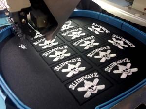 Bordadora para bordados personalizados en textil