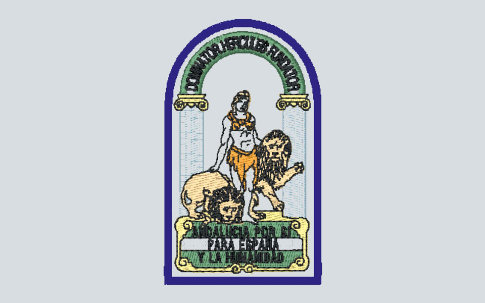 Bordado escudo Andalucia